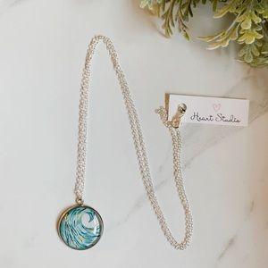 3/$30 Wave surfer necklace